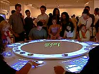 The Un-Private House interactive table